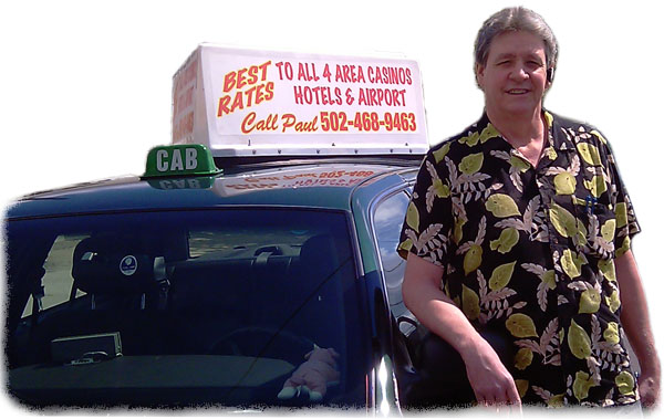 Paul S Taxi Cab Service Serving Southern Indiana And
