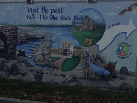 Falls of The Ohio Wall Pic
