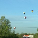 derby festival balloon race